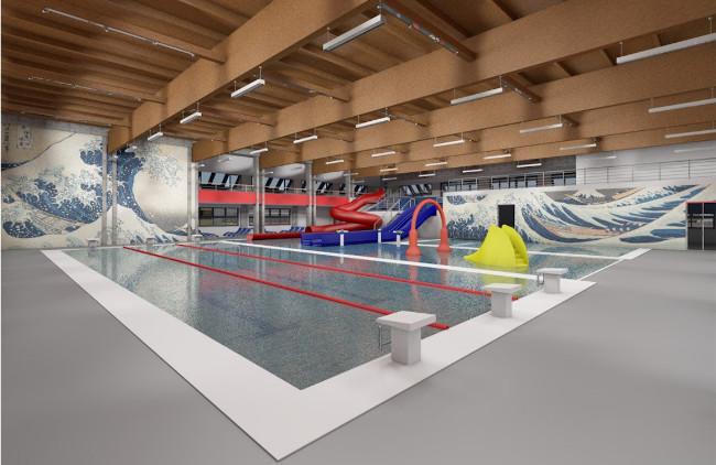 riqualificazione e gestione del centro natatorio di villafranca